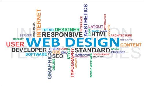 Design einer Homepage
